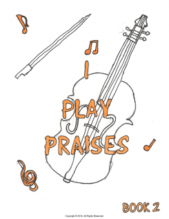 I Play Praises, Book 2 Cover
