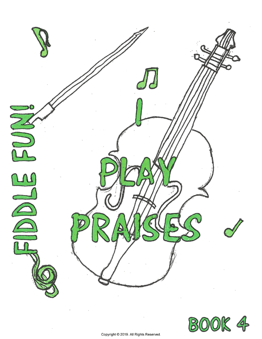 I Play Praises, Book 4 Cover