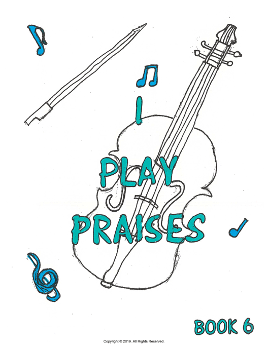I Play Praises, Book 6 Cover