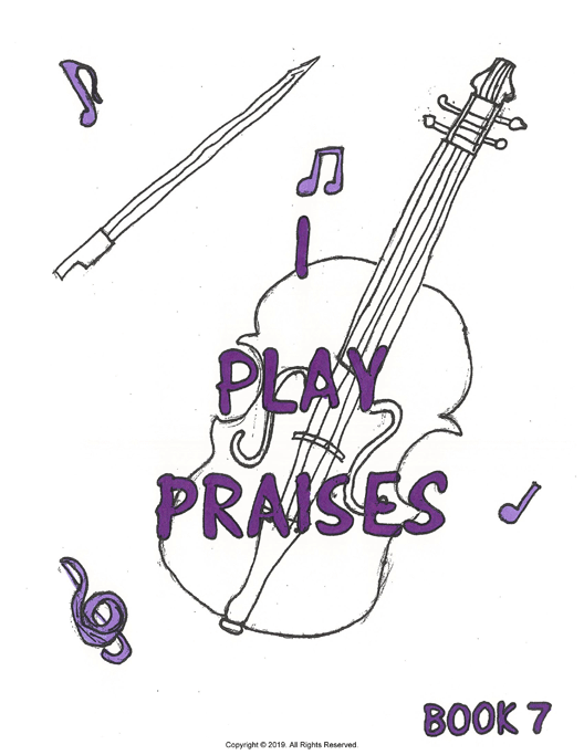 I Play Praises, Book 7 Cover